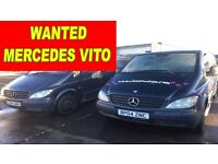Mercedes Vito van wanted any condition