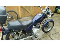 Yamaha sr125 full years mot
