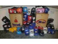Genuine Twins Leather Boxing / Muay Thai Gloves