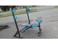 MENS HEALTH WEIGHTS BENCH & SQUATS STANDS