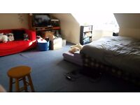 TWO WEEKS RENT FREE Large Double Bedroom to Rent In Penthouse Flat, Union Street