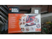 Black and decker 4 in 1 cyclone sander £45