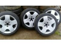 Vauxhall vectra astra Zafira omega elite 17 inch alloy wheels