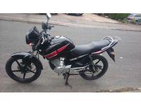 Yamaha YBR 125 Motorcycle Motorbike