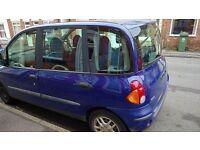 Fiat Multipla 1.9 Diesel 2002. £500.00