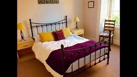 Wrought iron double bed for sale