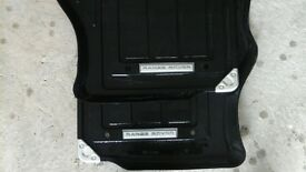 Range Rover rubber car mats, almost new £55