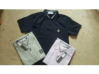 Polo tops Stone Island sizes M to L