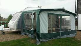 Dorema full length awning with annexe