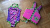 Brand new pool life jacket for girl