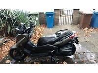 Yamaha X-Max 400 (YP400R, Xmax), 2015 (65 Reg) over 1 year warranty remaining, Grey, Touring Screen