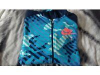 Nike air bue camoflauge jacket size XL boys age 13-15 yrs