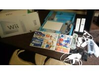 WII Bundle - Mint Condition as hardly used - Boxed