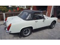 REDUCED! Beautifully immaculate MG Midget