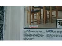 Fantastic space saving table n chairs