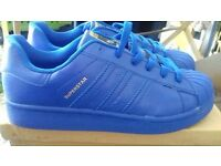 Mens Blue Adidas Trainers
