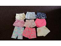Girls shorts 2-3 years