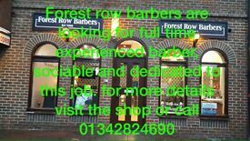 Forest row barbers