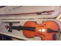 Violin (3/4) used a handful of times. Perfect condition. Would like £40