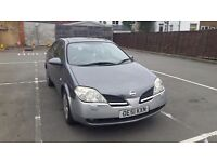 2002 Nissan Primera. Very Reliable. Looking for a quick sale - 1.8 Petrol - 126,000 - 4 months MOT