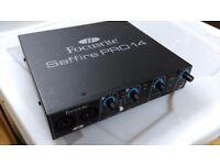 Focusrite Saffire Pro 14 1U half-width Firewire Audio Interface