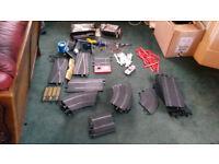 large Scalextric Classic bundle track car accessories etc