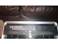 Crown amplifier Power Tech 3