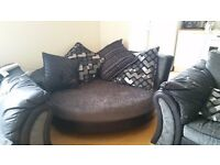 Myriad Cuddler Sofa from DFS in excellent condition - only 2 months old