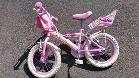 "Girls 12"" Bike - Appllo Daisy chain"