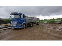Scania G440 Lorry And Trailer.