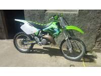 Kx 125(kx125 kx cr yz rm tm pitbike scrambler)