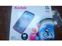 Kodak Zx1 pocket video camera, 720p, 16gb SD card
