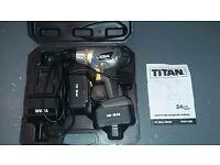 Titan 12v Electric Drill