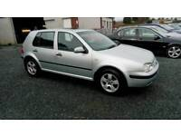 02 Vw Golf 1.9 TDi Diesel 5 Door FULL Service History Road Tax £135( can Be viewed inside Anytime