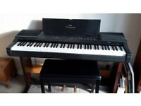 Yamaha cpv5 electric piano and bench. Exc condition