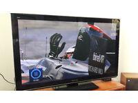 "Panasonic Smart TX-P42VT30B 42"" 3D 1080p HD Plasma TV with freesat HD wifi"
