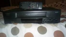Video recorder.