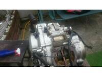 Yamaha dt bottom half of engine