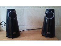 SPEAKERS..GREAT CONDITION AND DESIGN...BARGAIN