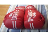 Lonsdale Boxing Gloves - Size:Large - New
