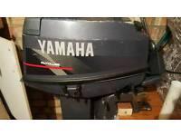 Short shaft 25hp yamaha autolube