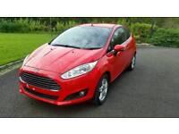 2013 (Sept) Ford Fiesta Zetec 1.25 3 door - only 11287 miles