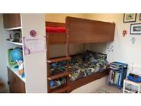 Aspace bunk beds with storage