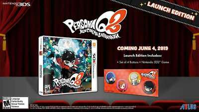 Persona Q2: New Cinema Labyrinth Launch Edition 3DS New Nintendo 3DS,Nintendo 3D