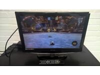 "22"" Technika TV with Build in DVD Player - HDMI Port - Freeview - Includes Stand and remote"