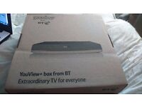 BT YouView + box unopened DTR-T2100/500G/BT/DF