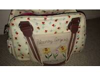 Blooming gorgeous changing bag