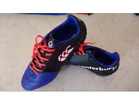 Rugby Boots. Canterbury size 8