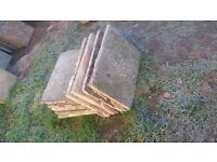 10 flagstone size is 2x450