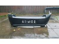 Vectra c twin exhausts and bumper